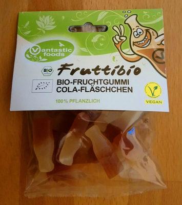 Fruttibio Bio-Fruchtgummi Cola-Fläschchen - Product