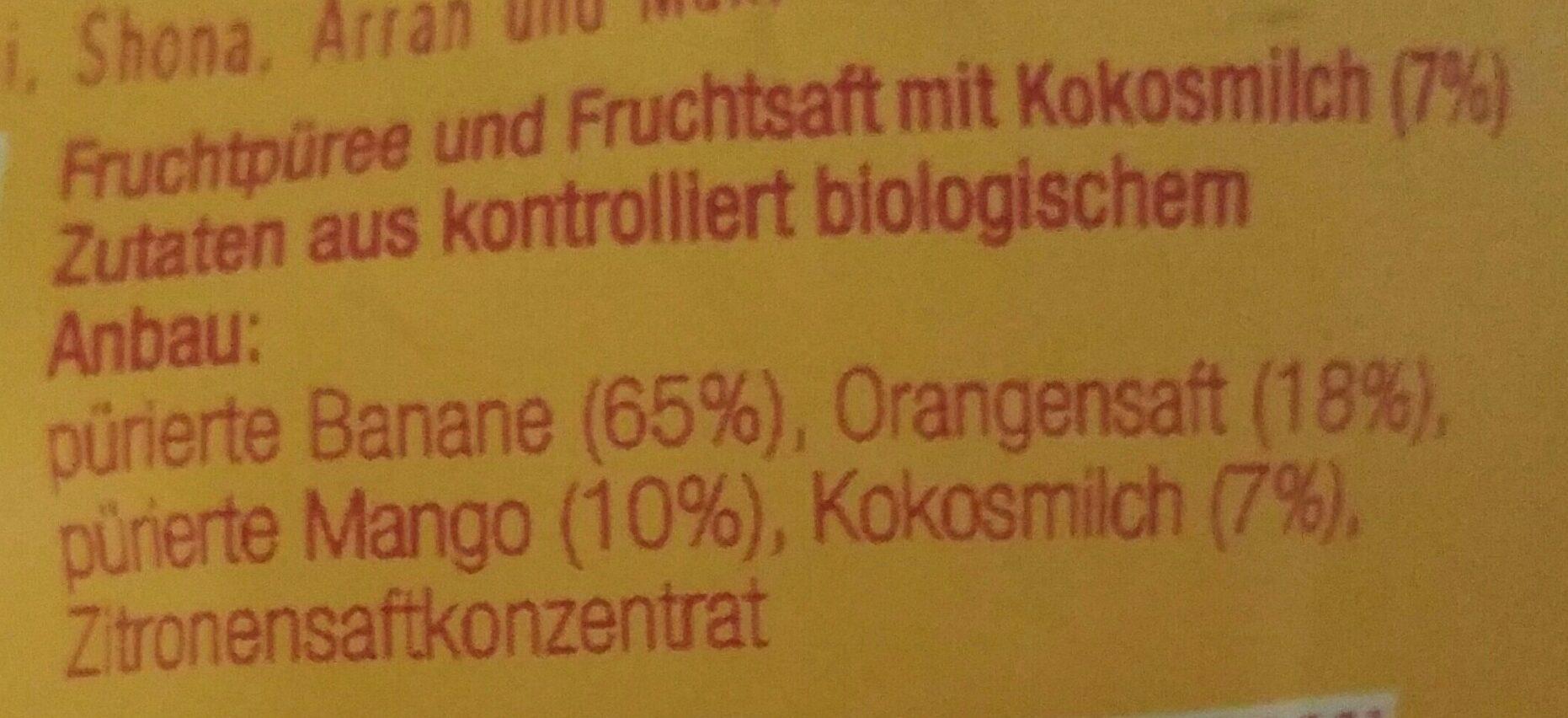 Fruchtbar - Ingrediënten