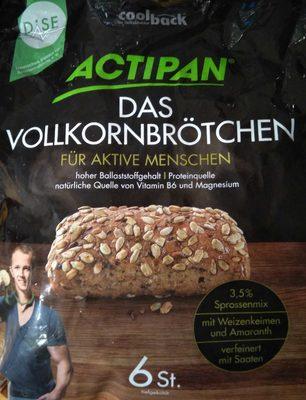 Action Das Vollkornbrötchen - Produkt