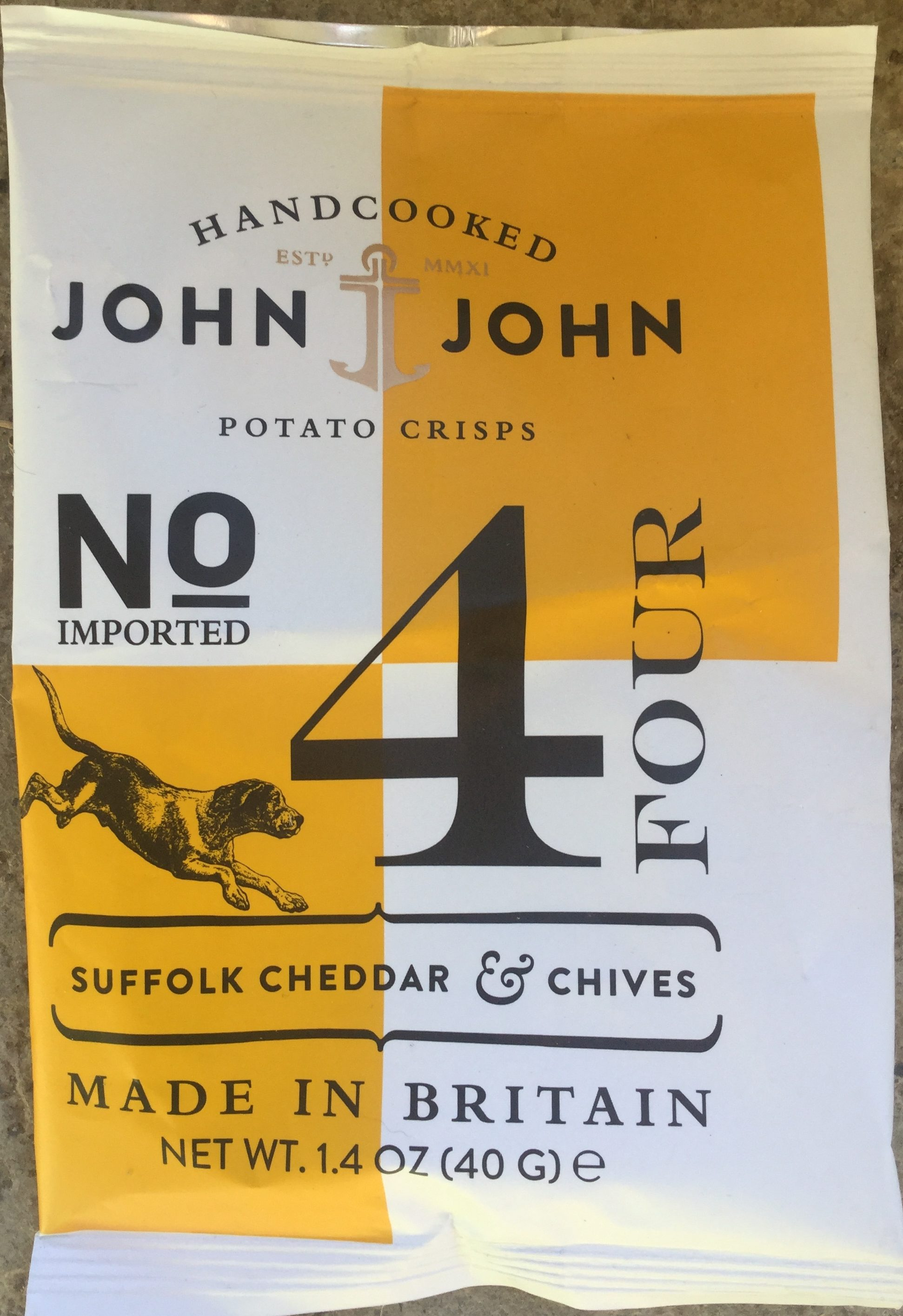 No 4 - Suffolk cheddar  chives - Produit - en