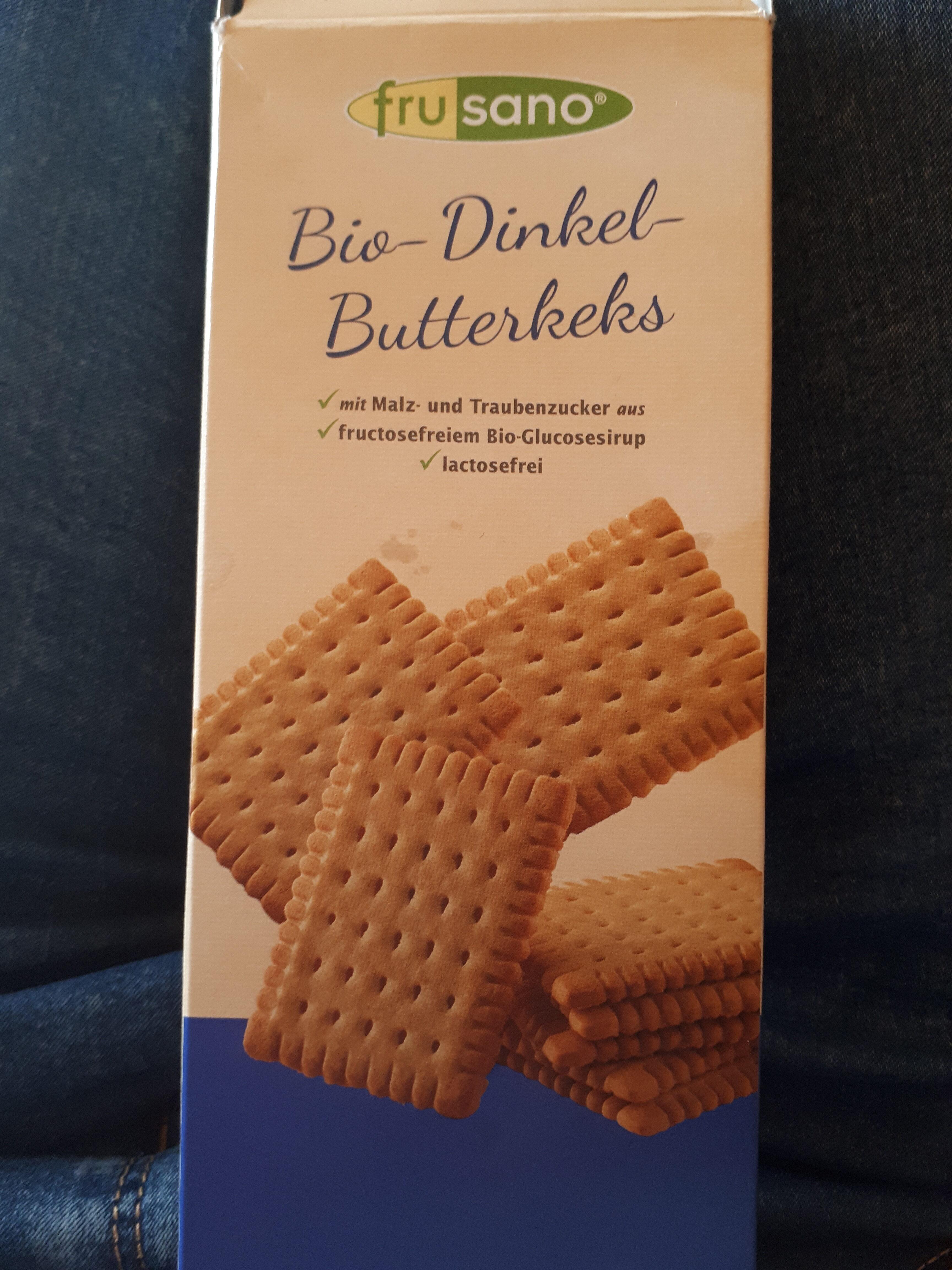 Bio Dinkel Butterkeks - Produit - de