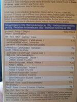 Bio Dinkel Butterkeks - Informations nutritionnelles - de