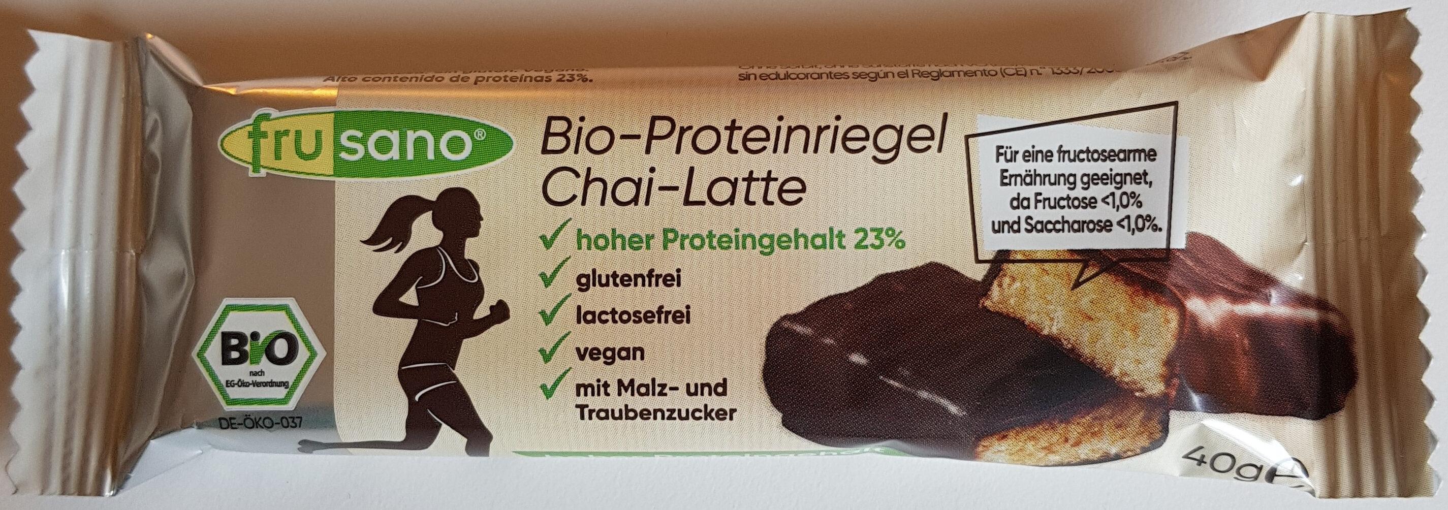 Bio-Proteinriegel Chai-Latte - Produit - de