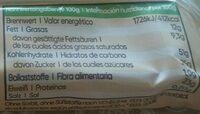 Bio-Proteinriegel Chai-Latte - Informations nutritionnelles - de