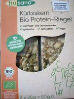 Barre protéinee de graines de courge bio - Produit