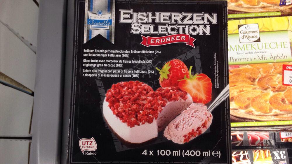 Glace fraise (Cristallo) - Product - fr