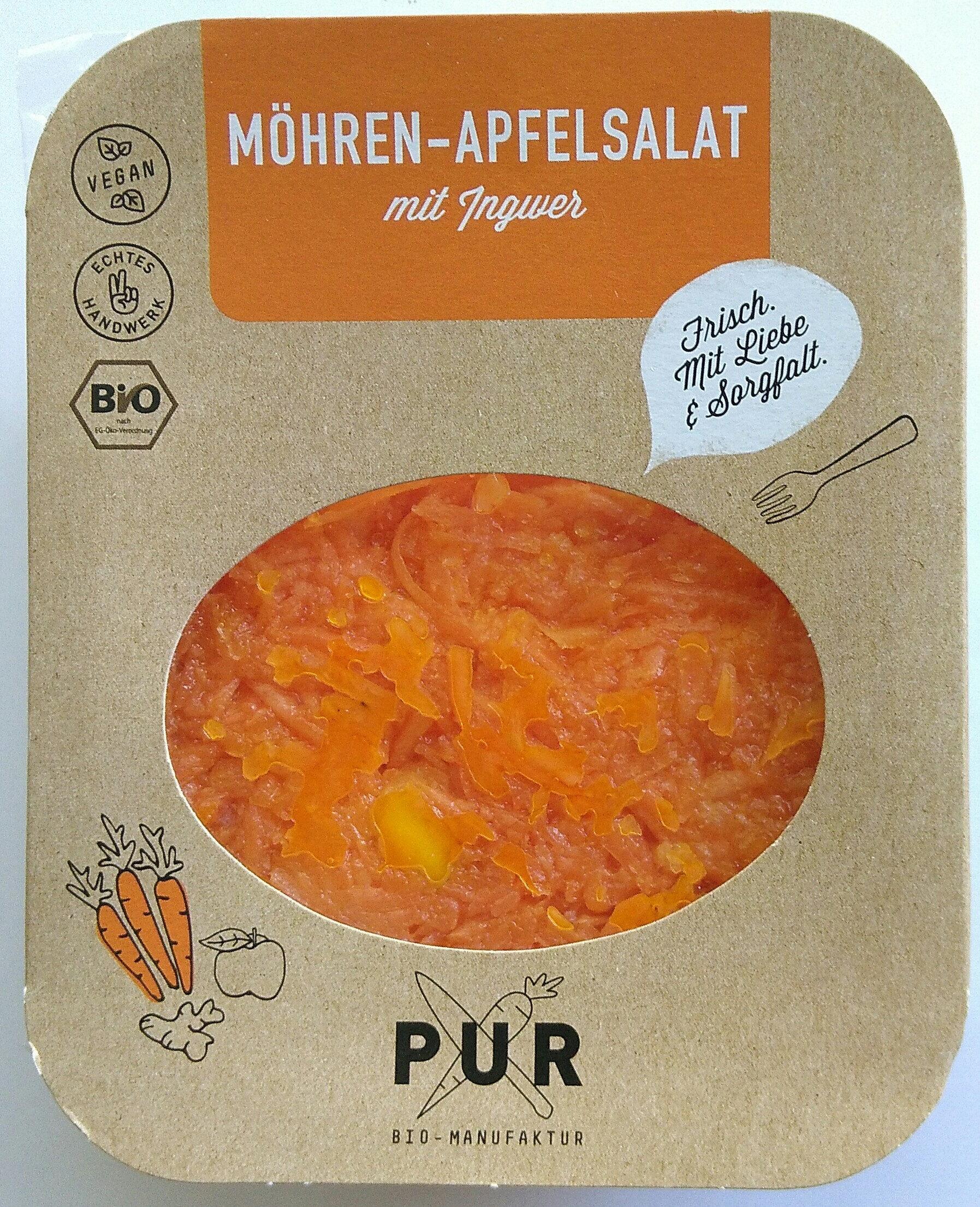 Möhren-Apfelsalat mit Ingwer - Product