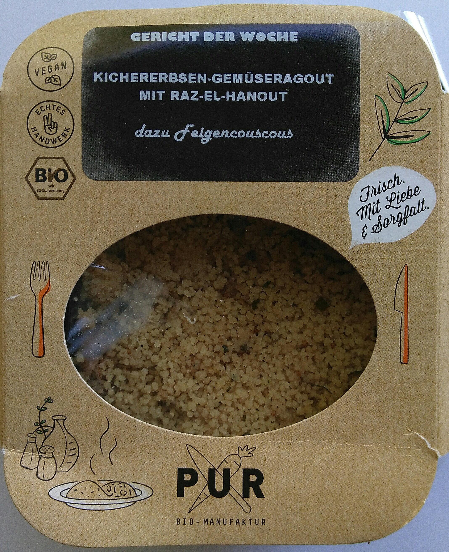Kichererbsen-Gemüseragout mit Raz-el-Hanout - Product - de