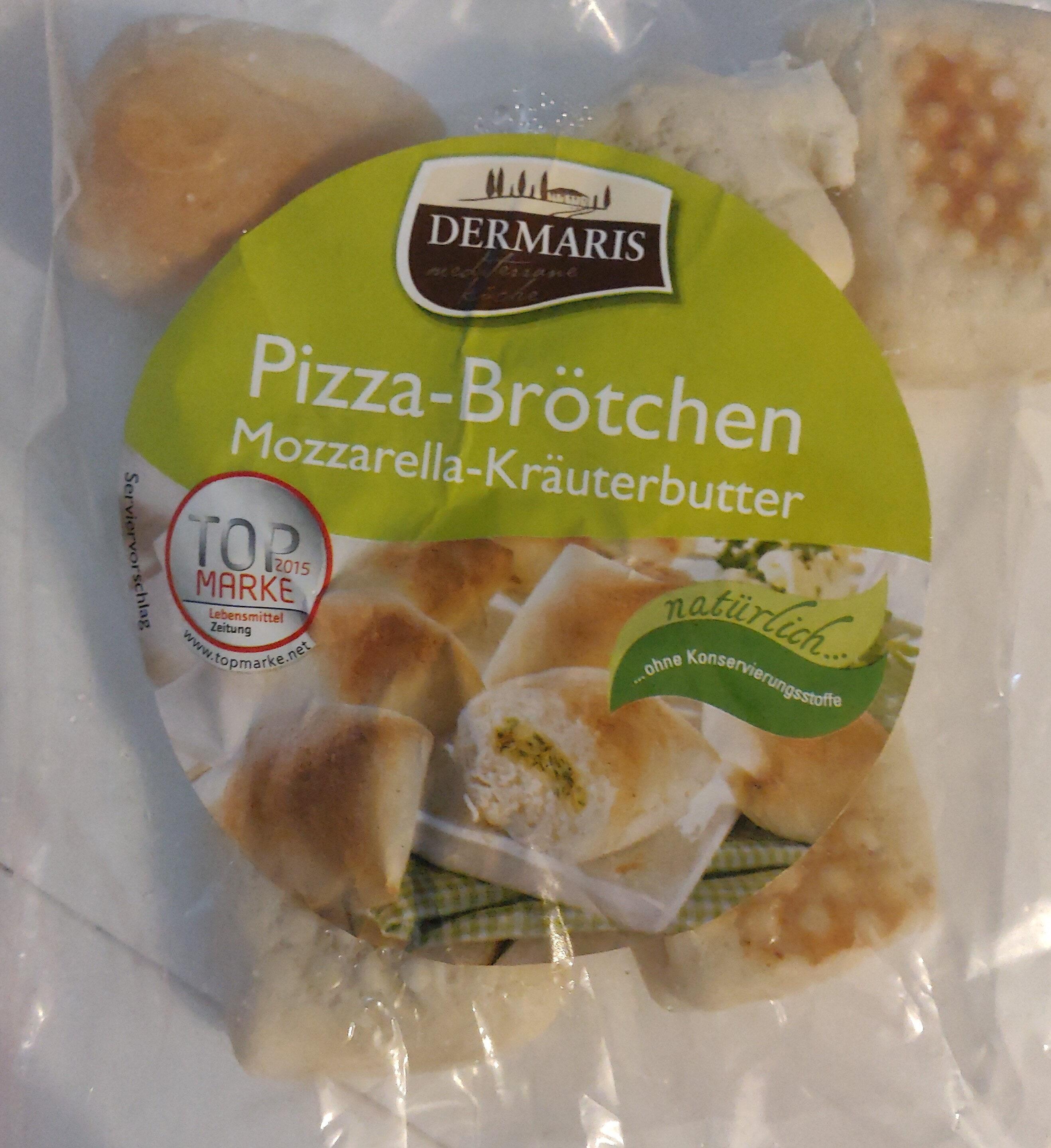 Pizza-Brötchen Mozzarella-Kräuterbutter - Produkt - de