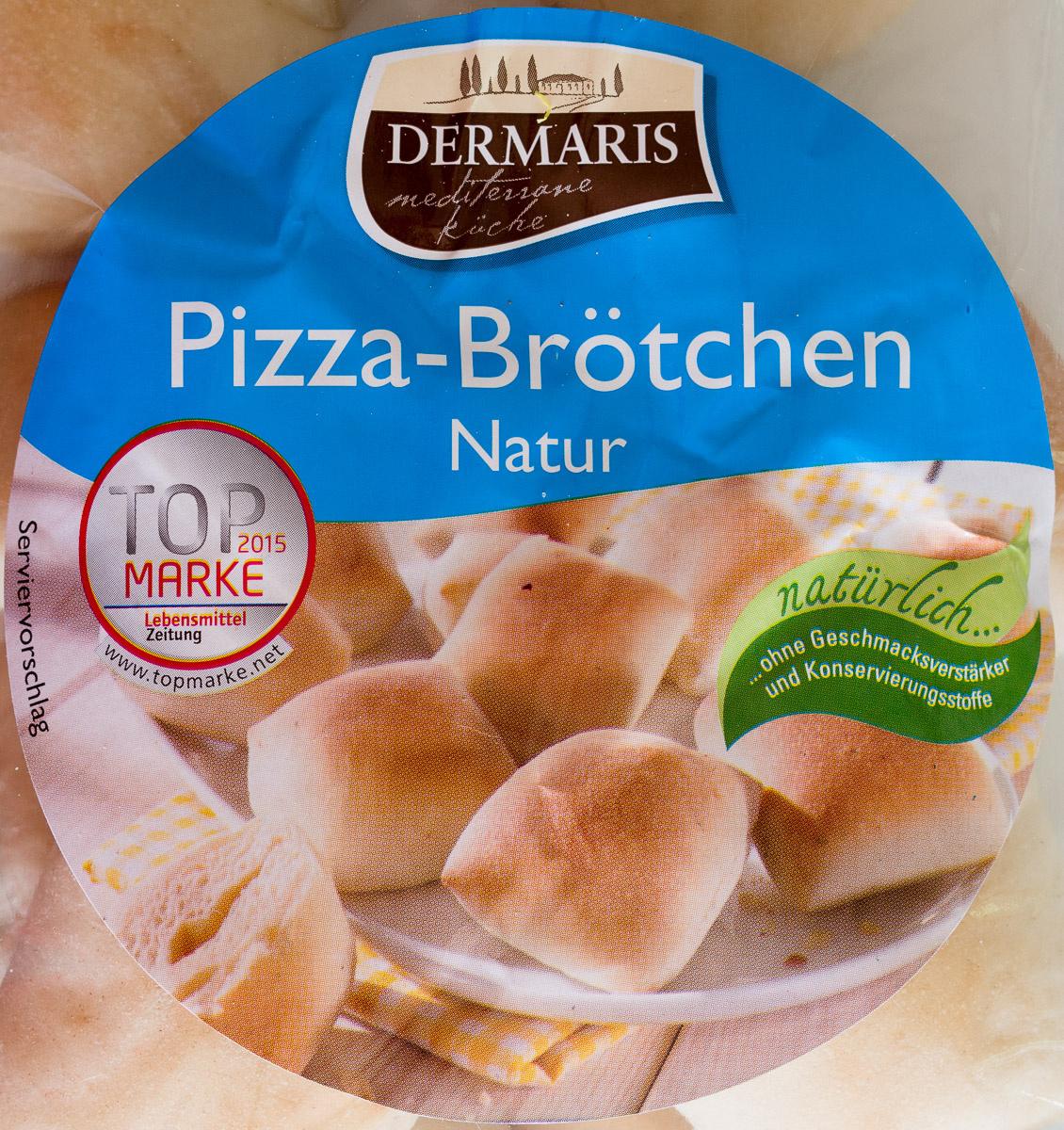 Pizza-Brötchen Natur - Product - de