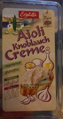 Aioli knoblauch creme - Produit