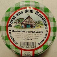 Deutsches Corned Lamm - Produkt