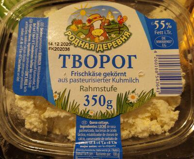 Frischkäse gekörnt aus pasteurisierter Kuhmilch, Rahmstufe - Produkt
