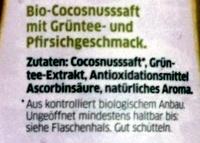 coco juice - Ingredients