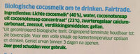 Lait De Coco Nature - Ingrediënten - nl