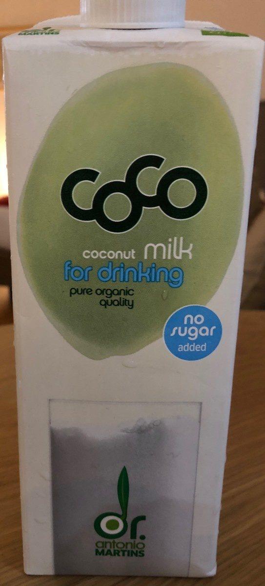 Coco milk - Product - fr