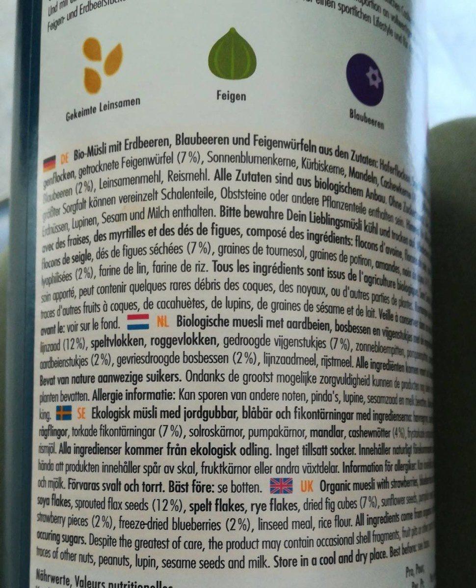 20%protein cashew feige - Ingredients - fr