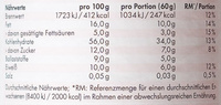Berry White Choc Muesli - Nutrition facts - de