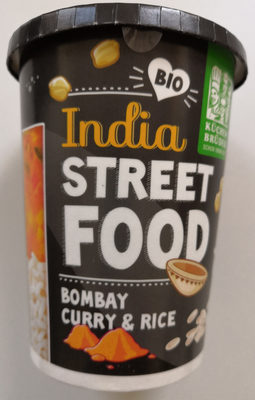 India Street Food Bombay Curry & Rice - Produit - de