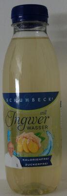 Schuhbeck's Ingwer Wasser still - Product