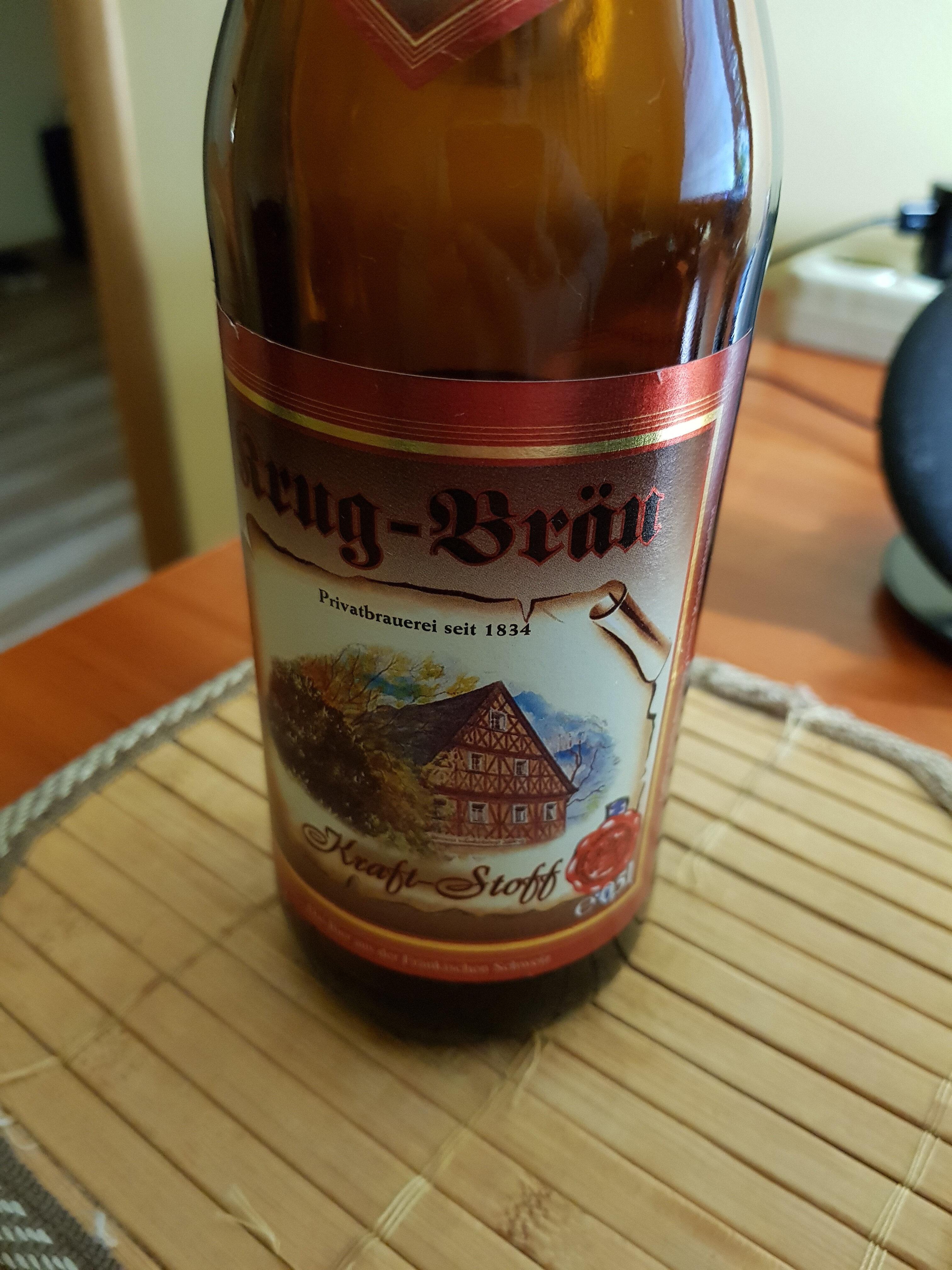 Krug-Brau Kraft-Stoff - Продукт - en