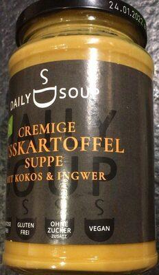 Cremige süsskartoffel suppe mit kokos & ingwer - Product - en