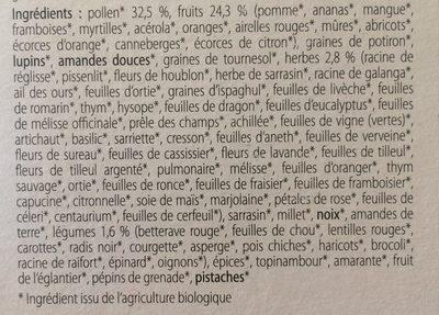 Alcavie - Ingrediënten - fr