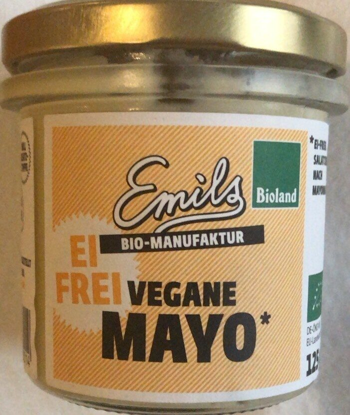 Emils Feinkost Vegane Mayo,125 GR Glas - Product - de