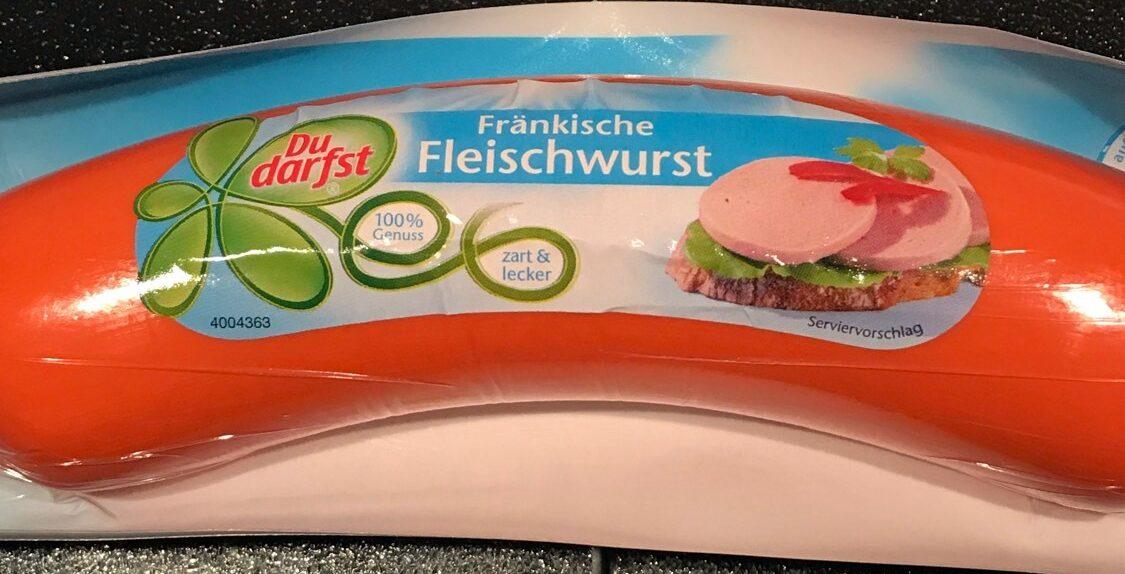 Fränkische Fleischwurst - Product - de