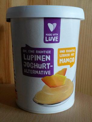 Lupinen Joghurt-Alternative Mango, Fermentiert mit Veganen Joghurtkulturen - Produkt