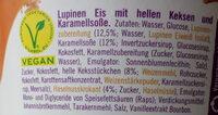 Made With Luve Lupinen Eis Keks Und Karamell - Zutaten - de