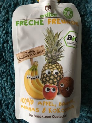 Freche Freunde Apfel, Banane, Ananas & Kokosnuss - Product - de