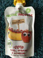 Freche Freunde Apfel, Banane & Himbeere - Product - de