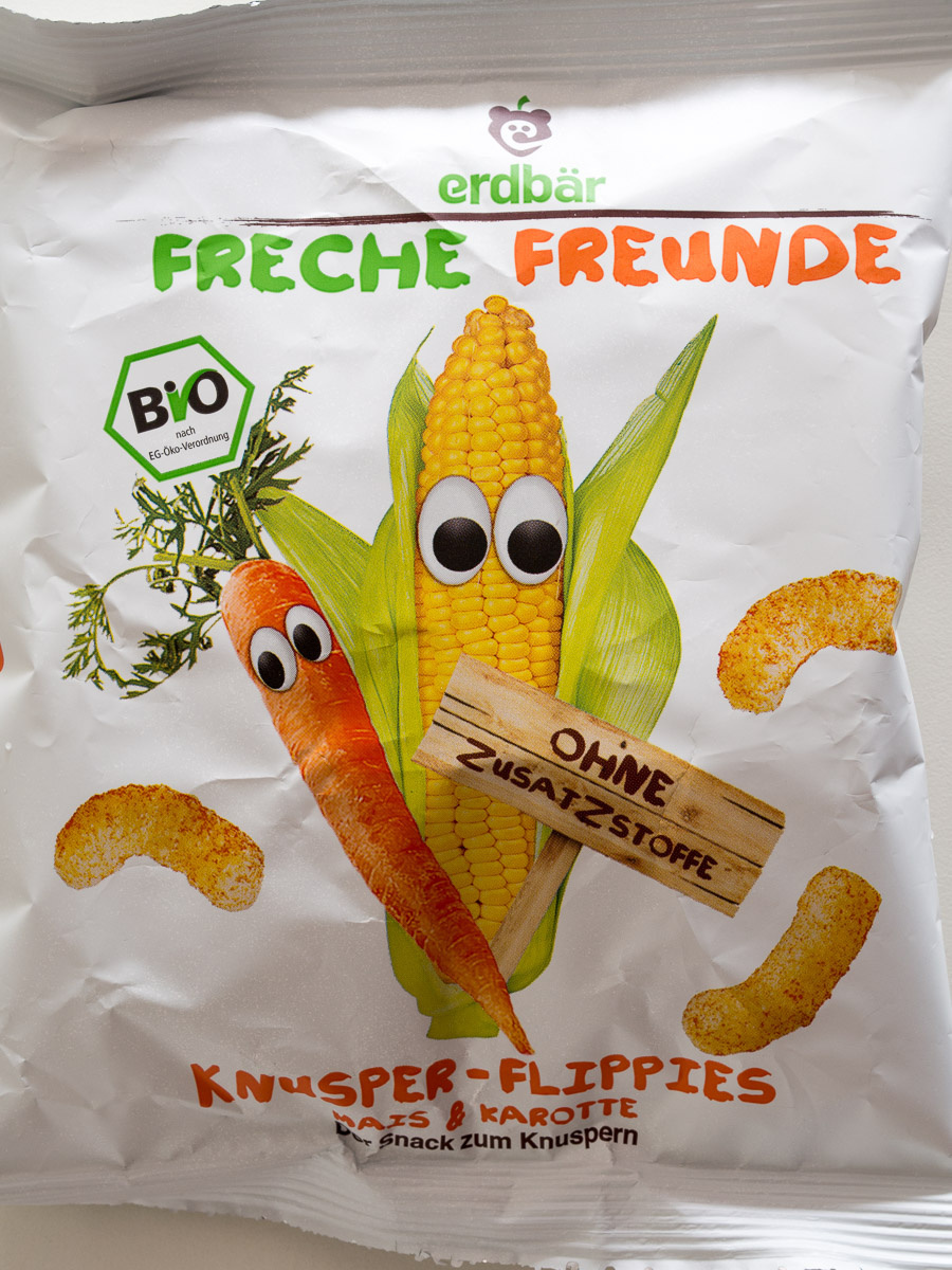 Knusper-Flippies Mais & Karotte - Product