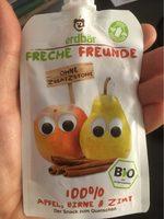 Bio Quetschies, Apfel, Birne & Zimt, Ab Dem 1. Jahr - Product
