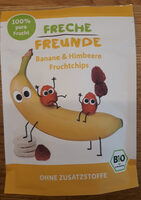 100% banane & himbeere - Product - de
