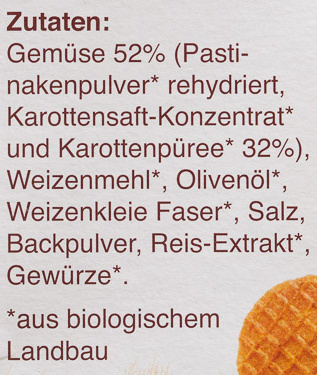 100% banane & himbeere - Ingredients