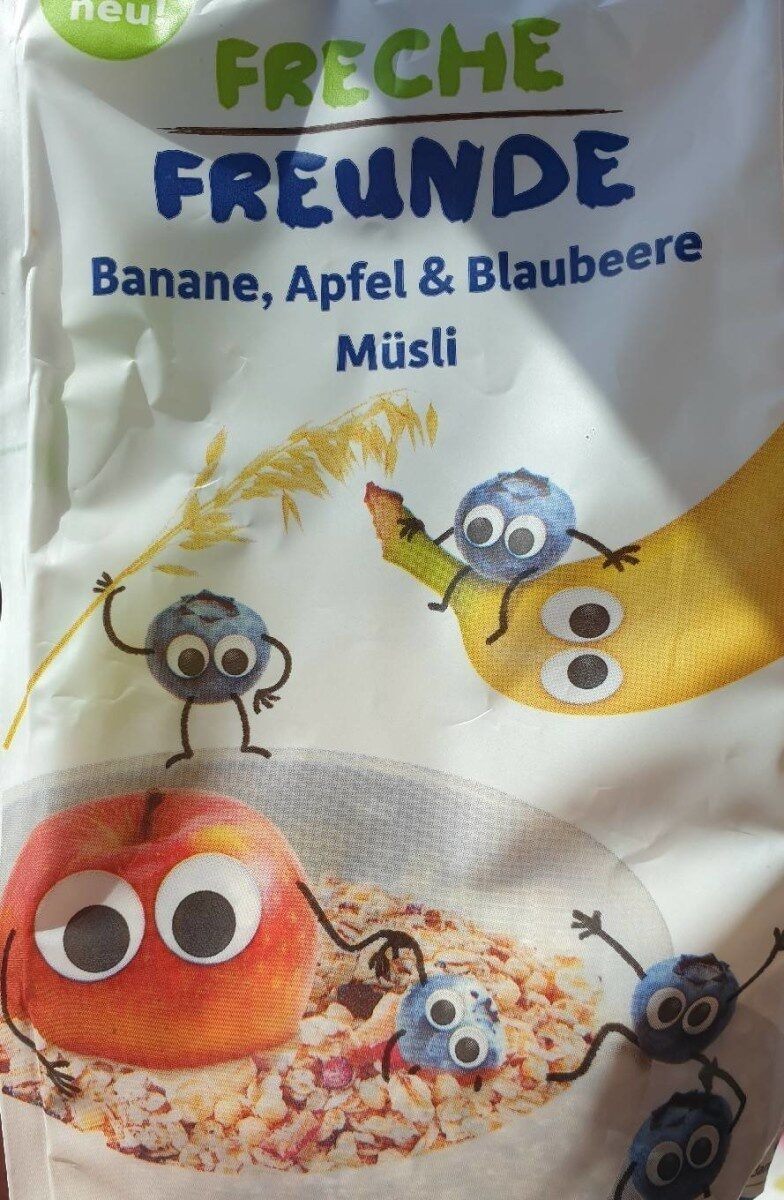 Erdbär Freches Müsli Banane, Apfel & Blaubeere - Produkt - de
