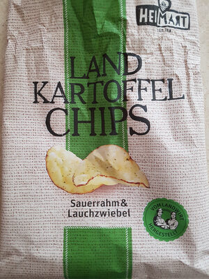 LAND KARTOFFEL CHIPS - Product