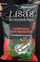 Lisa's Kesselchips Alpenkräuter - Produit - fr