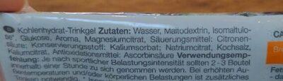 Drinkgel - Ingredienti - de