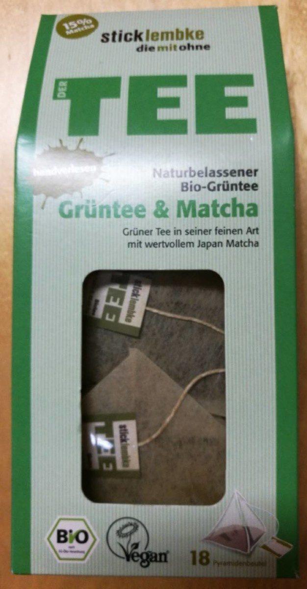 Grüntee &matcha - Product