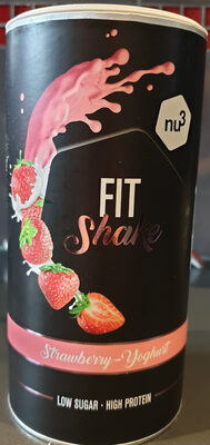 Nu3 Fit Shake Fraise Yaourt - Product - fr