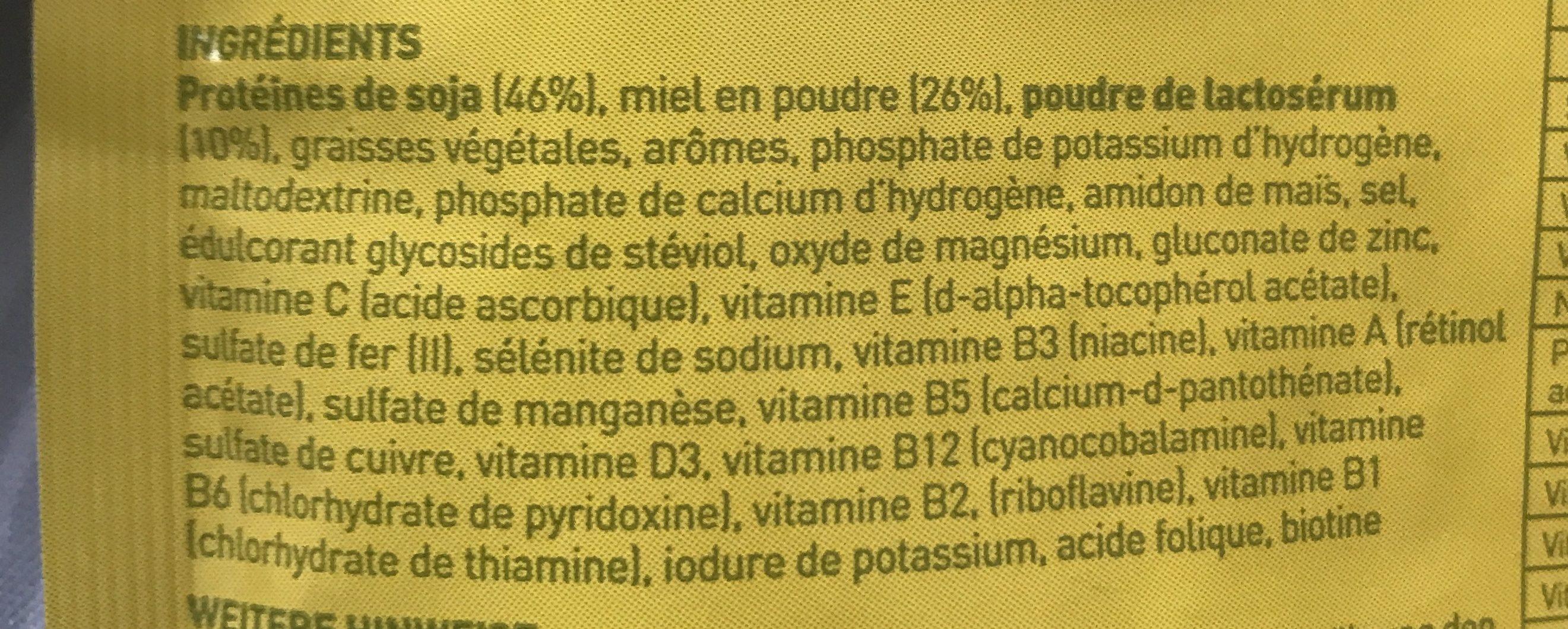 Vitalkost - Ingrédients