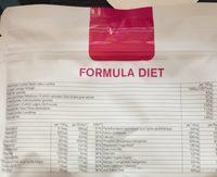 Low-carb Diettpakke: Nu3 Formula Diet + Nu3 Low Carb Rice - Nutrition facts