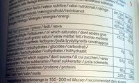 Nu3 Erteprotein, Pulver - Nutrition facts