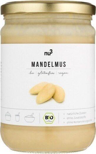 Nu3 Bio Mandelmus Weiß - Produit - fr