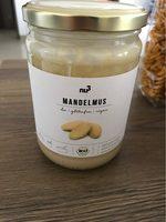 Nu3 Bio Mandelmus Weiß - Informations nutritionnelles - fr