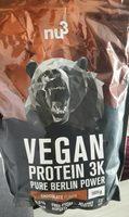 Vegan Protein K3 chocolate flavour - Produit