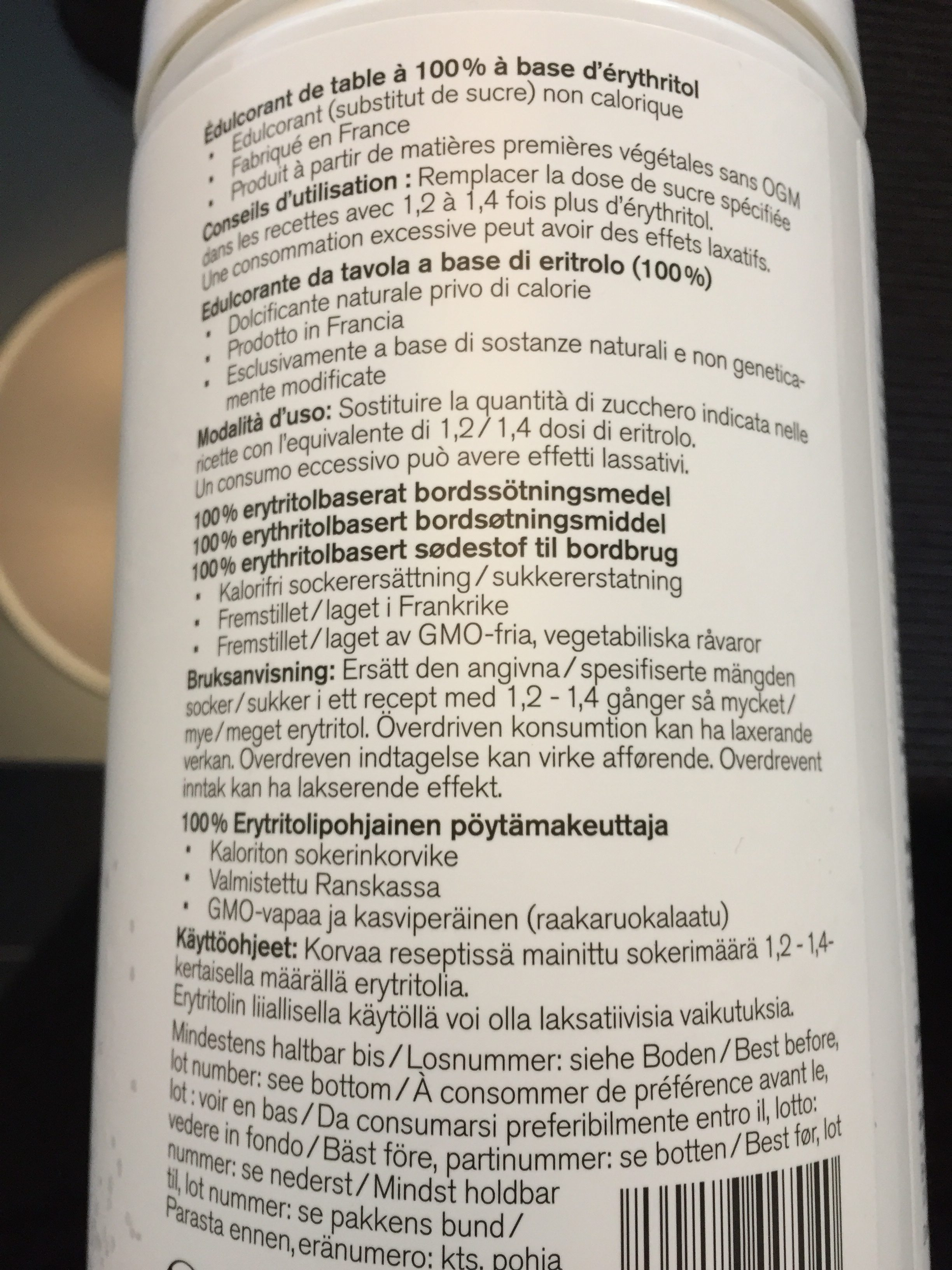 Nu3 Xylit, Grobkörnig - Ingredients